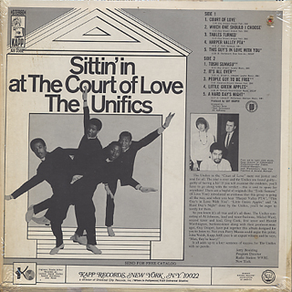 Unifics / Sittin' In At The Court Of Love back