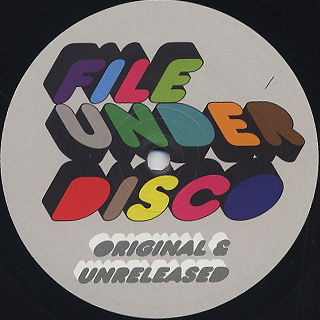 V.A. / (Drop Out Orchestra/(J Kriv And The Disco Machine) Original And Unreleased back