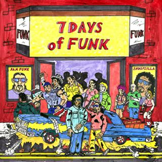7 Days of Funk (DaM-FunK & Snoopzilla) / 7 Days of Funk (Japan Special Edition)