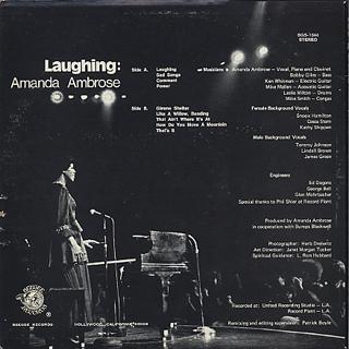 Amanda Ambrose / Laughing back