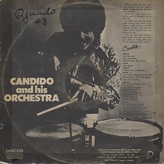 Candido Y Su Orquesta / S.T. back