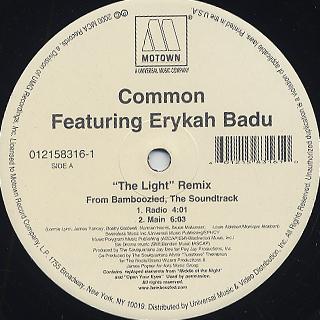 Common feat Erykah Badu / The Light (Remix) back
