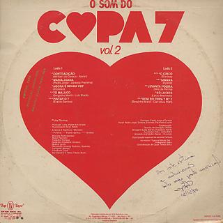 Copa 7 / O Som Do Copa 7 - Vol.2 back