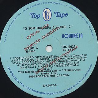 Copa 7 / O Som Do Copa 7 - Vol.2 label