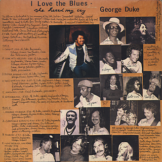 George Duke / I Love The Blues, She Heard My Cry back