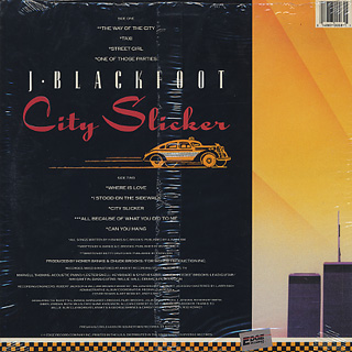 J. Blackfoot / City Slicker back