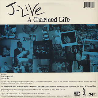 J-Live / Satisfied? c/w A Charmed Life back