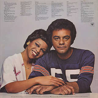 Johnny Mathis & Deniece Williams / That's What Friends Are For back