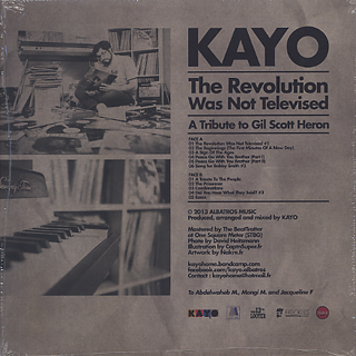 Kayo / The Revolution Was Not Televised (A Tribute To Gil Scott Heron) back
