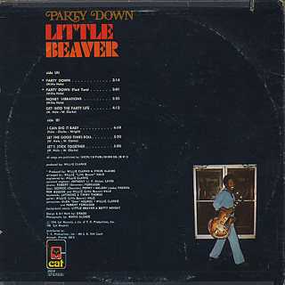 Little Beaver / Party Down back