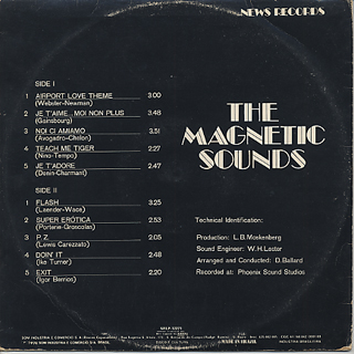 Magnetic Sounds / S.T. back