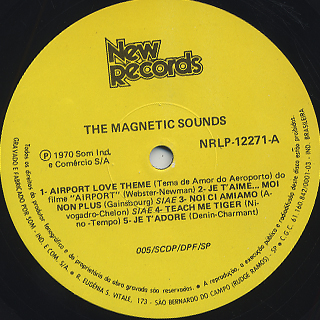 Magnetic Sounds / S.T. label