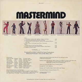 Mastermind / S.T. back