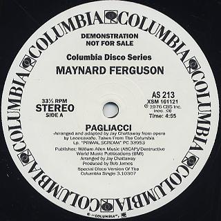 Maynard Ferguson / Pagliacci