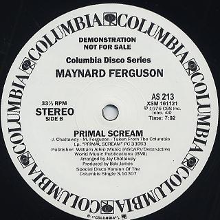 Maynard Ferguson / Pagliacci back