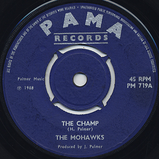 Mohawks / The Champ front