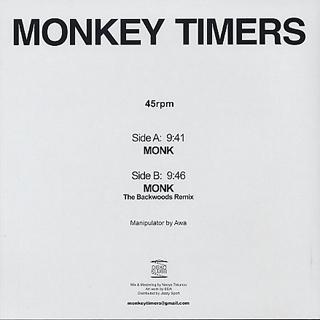 Monkey Timers / Monk back