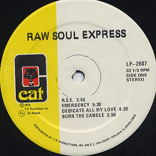 Raw Soul Express / S.T. label