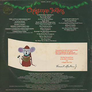 Salsoul Orchestra / Christmas Jollies back