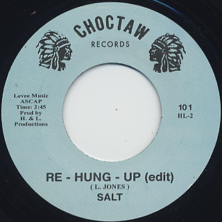 Salt / Hung Up c/w Re-Hung Up(edit) back