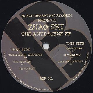 Zhao-Ski / The Anti Scene EP