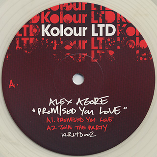 Alex Agore / Promised Your Love EP