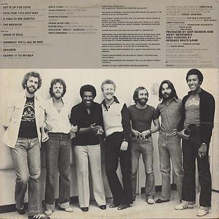 Average White Band & Ben E. King / Benny And Us back