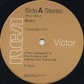 Buari / S.T. label