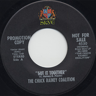 Chuck Rainey Coalition / Got It Together