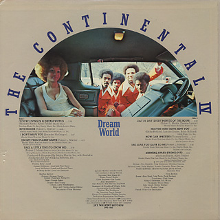 Continental IV / Dream World back