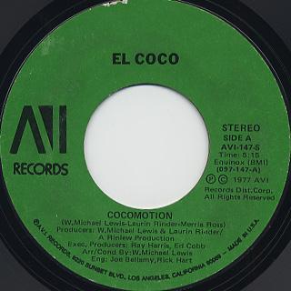 El Coco / Cocomotion (45) back