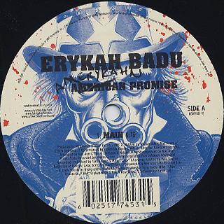 Erykah Badu / Amerykahn Promise back