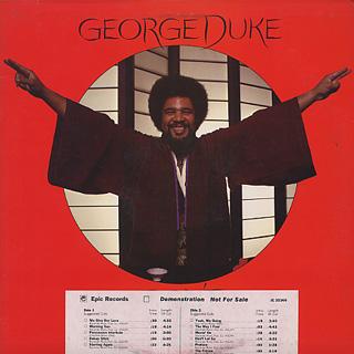 George Duke / Don't Let Go
