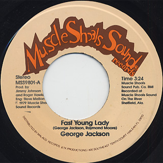 George Jackson / Fast Young Lady c/w Funky Disco Music