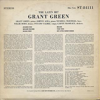Grant Green / The Latin Bit back