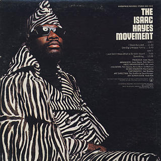 Isaac Hayes / The Isaac Hayes Movement back
