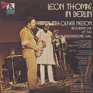 Leon Thomas / In Berlin back
