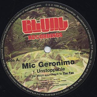 Mic Geronimo / Unstoppable back