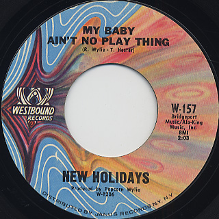 New Holidays / Maybe So Maybe No back