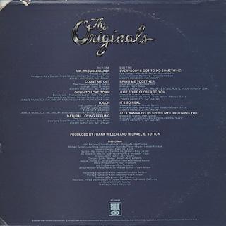 Originals / Communique back