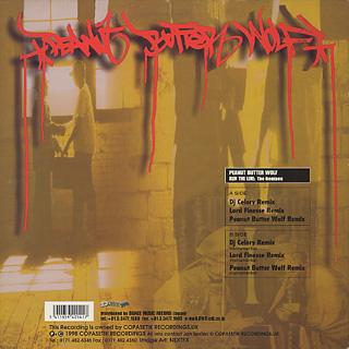 Peanut Butter Wolf / Run The Line (The Remixes) back