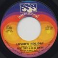 Peggy Scott & Jo Jo Benson / Lover's Holiday
