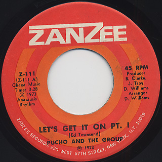 Pucho & The Group / Let's Get It On front