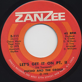 Pucho & The Group / Let's Get It On back