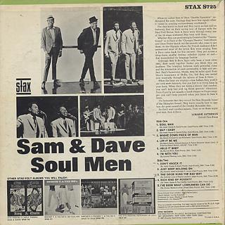 Sam & Dave / Soul Men back
