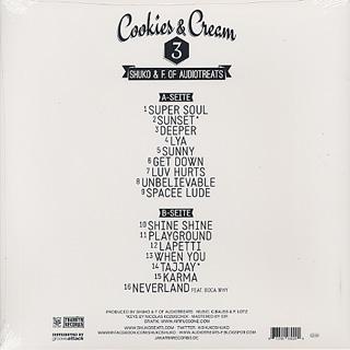 Shuko & F. Of Audiotreats / Cookies & Cream 3 back