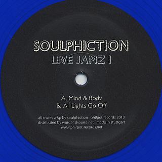 Soulphiction / Live Jamz 1