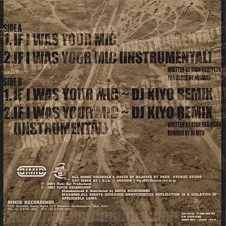 Substantial / If I Was Your Mic (DJ Kiyo Remix) back