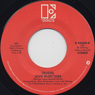 Trussel / Love Injection back