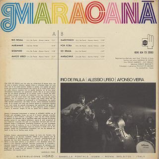 V.A.(Irio De Paula, Alessio Urso, Afonso Vieira) / Maracana back